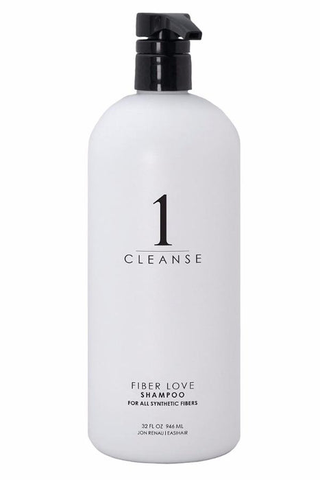 Fibre Love Synthetic Shampoo by Jon Renau - Litre •  MIMO WIGS • Haircare Experts & Medical Hair Loss Experts.