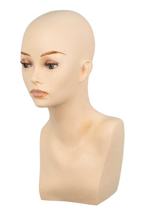 "Rubber Mannequin 15"" by Jon Renau •  MIMO WIGS • accessories Experts & Medical Hair Loss Experts."