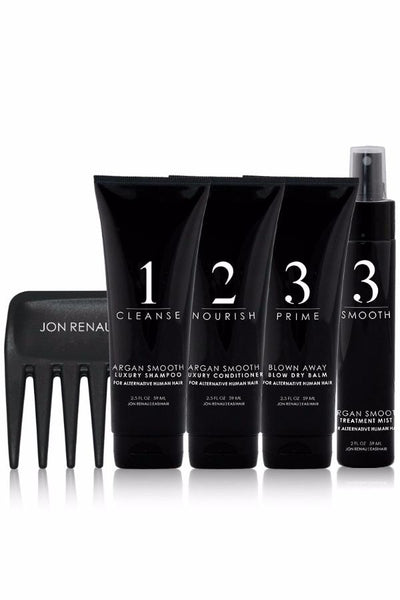 Human Hair Care Kit Travel Size