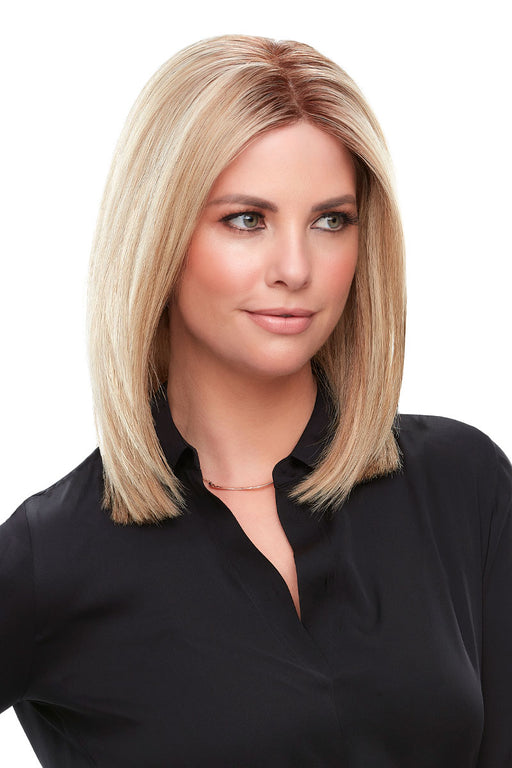"Top Smart 12"" Human Hair by Jon Renau •  MIMO WIGS • Toppers Experts & Medical Hair Loss Experts."
