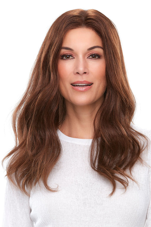 "Top Smart 18"" Human Hair by Jon Renau •  MIMO WIGS • Toppers Experts & Medical Hair Loss Experts."