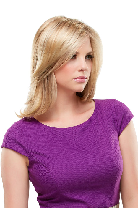Top Notch Synthetic Topper by Jon Renau •  MIMO WIGS • Toppers Experts & Medical Hair Loss Experts.