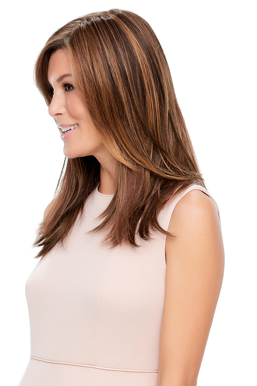"Top Style Synthetic 18"" by Jon Renau •  MIMO WIGS • Toppers Experts & Medical Hair Loss Experts."