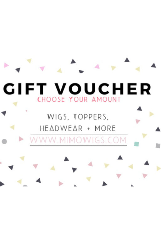 Gift Card •  MIMO WIGS • Gift Card Experts & Medical Hair Loss Experts.