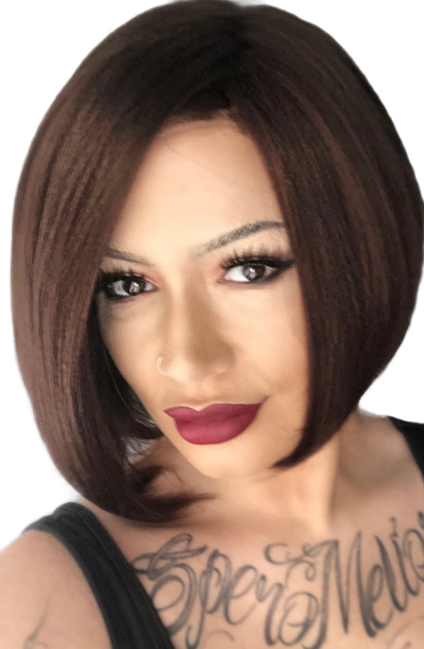 Mulberry Brown - Noriko Faith Wig | Rene of Paris | MiMo Wigs the Hairless Expert