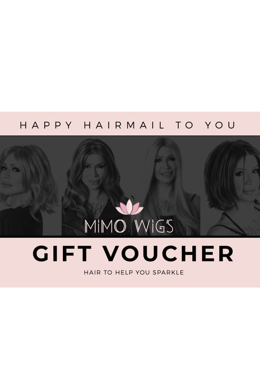 Hair Mail Gift Card •  MIMO WIGS • Gift Card Experts & Medical Hair Loss Experts.
