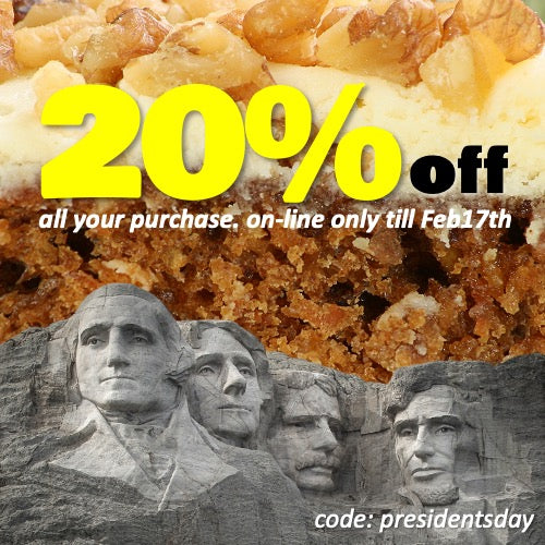 Presidents Day DISCOUNTS!