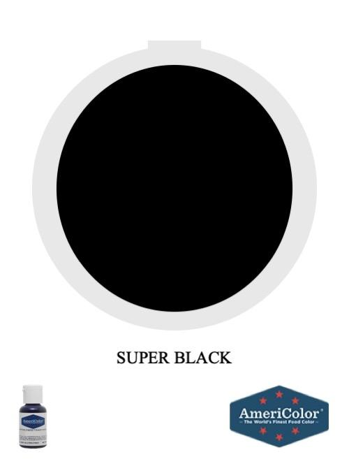 Gel Super Black .75oz