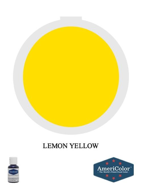 Gel Lemon Yellow .75oz