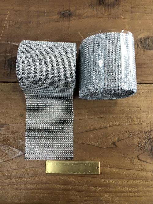 Diamond Mesh Silver roll