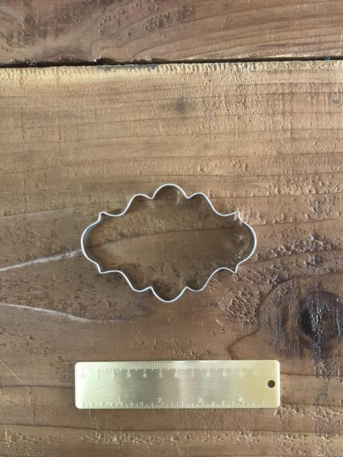 Plaque Long Fancy Cutter