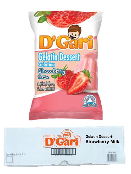 Dgari Strawberry Milk 24-4.2oz