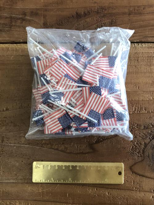 American Flag Pick 144pc