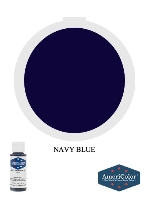 Candy Color Navy Blue 2oz