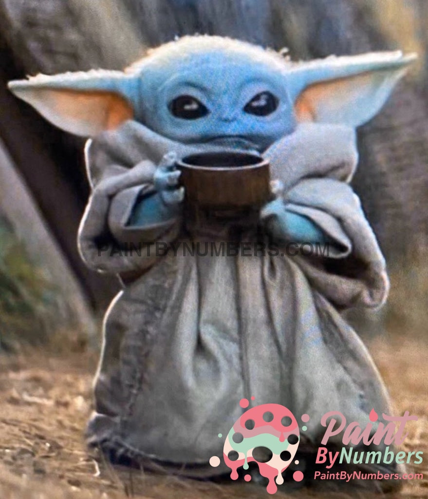 Baby Yoda Paint By Numbers For Adults