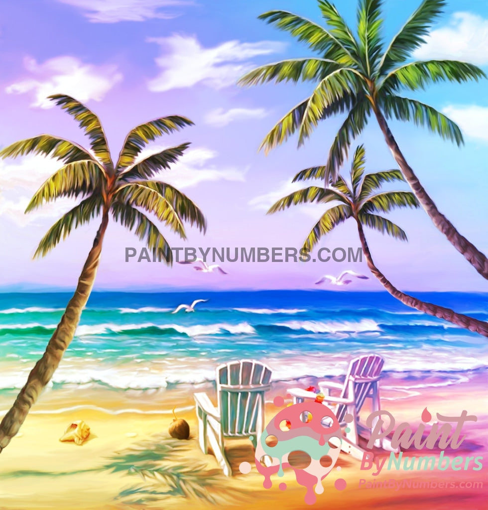 Beach Times Paint By Numbers Kit