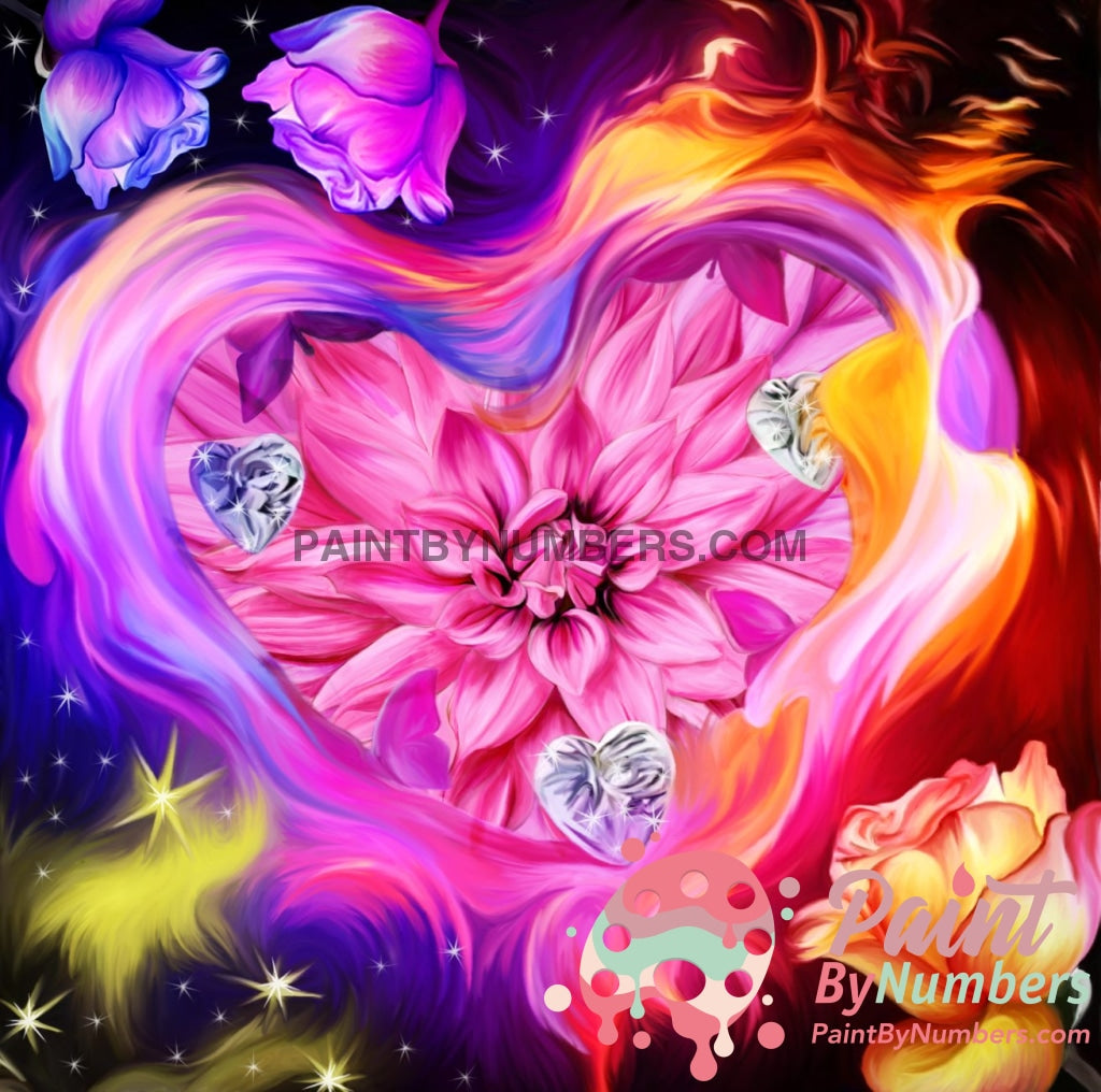 Eternal Heart Paint By Numbers Kit