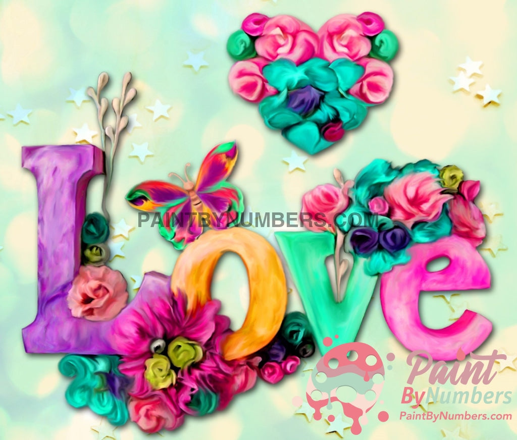 Love Everywhere Paint By Numbers Kit