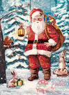 Santa Is Here Christmas Paint By Numbers Kit