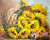 Sunflowers In Basket Paint By Numbers Kit No Frame / 40X50Cm