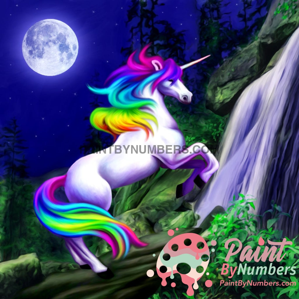 Unicorn Moon Paint By Numbers Kit