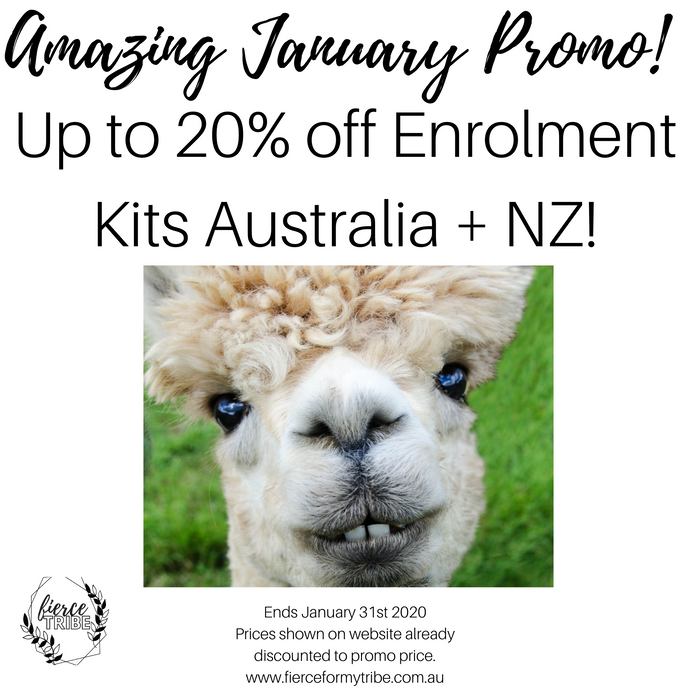 January 2020 - 20% off Doterra Enrolment Kits Australia + NZ