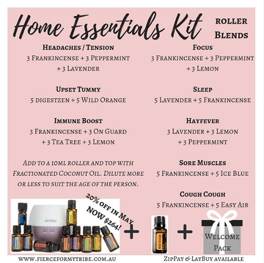 Home Essentials Kit - Roller Blends