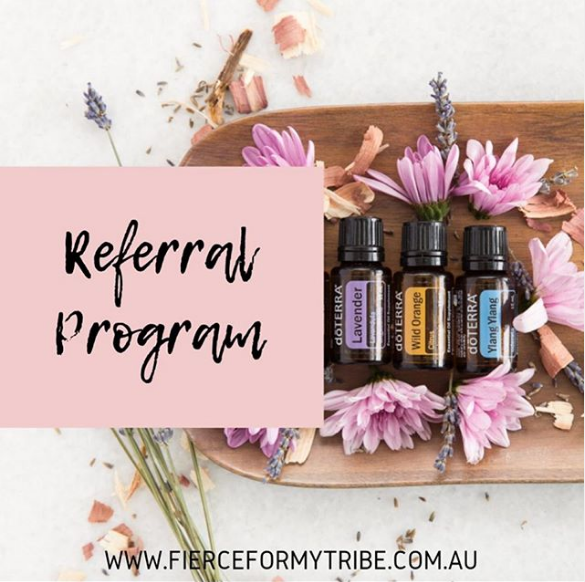 Doterra Fierce Tribe Referral Program
