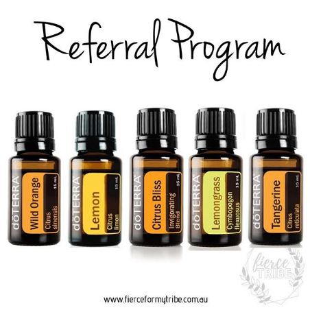 Doterra Referral Program - get free oils