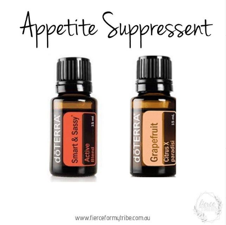 Doterra Essential Oils to Suppress your Appetite