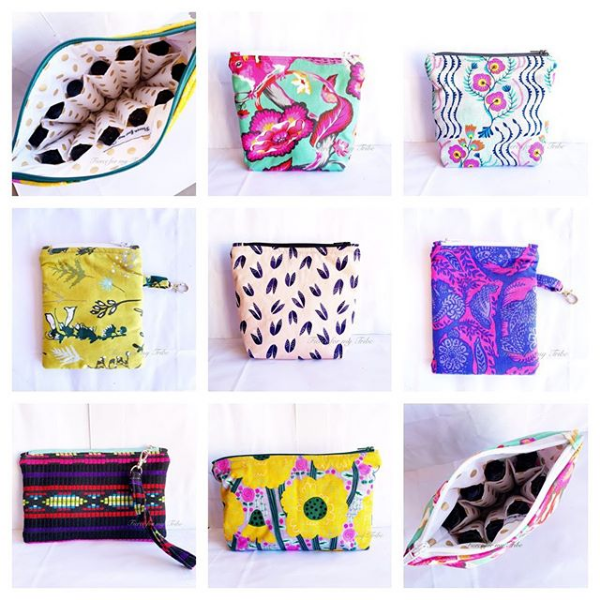 Latest Release of Essential Oil Bags & Pouches ready to ship!