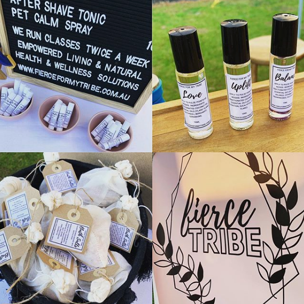 Fierce Tribe @ Sunraysia Farmers Market Mildura - August 2019