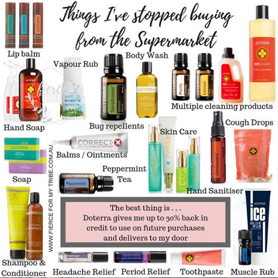 Things I've stopped buying from the Supermarket - Doterra Swaps