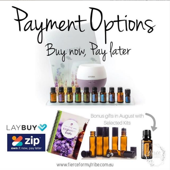 Doterra Essential Oils - Buy Now, Pay Later