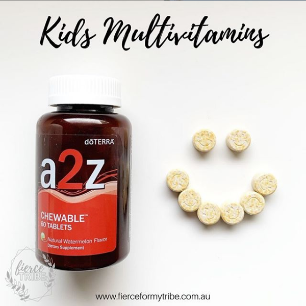 Doterra Essential Oil a2z Multivitamin Chewables for Kids