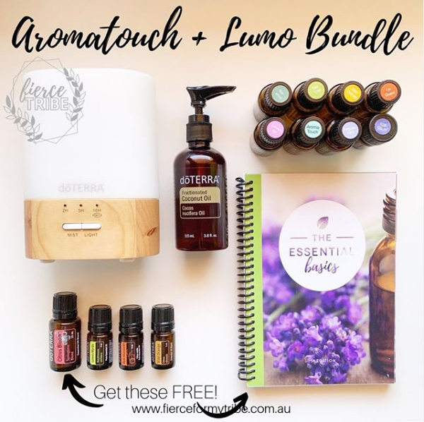 Doterra Aromatouch Kit + Lumo Bundle with Extras for FREE