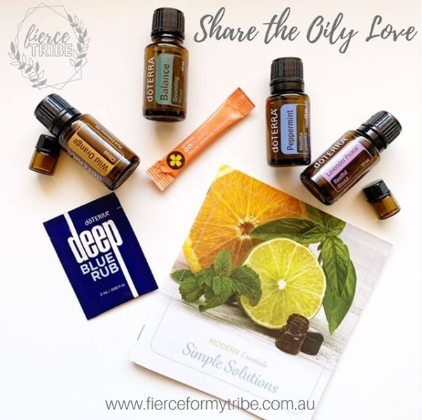 Share the Oily Love Event with Doterra Essential Oils