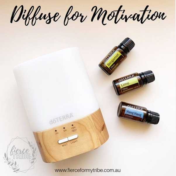 Motivation Diffuser Blends with Doterra Essential Oils