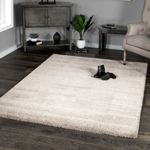 Palmetto Living by Orian Cloud 9 Buttery-Soft Ari Beige Accent Rug