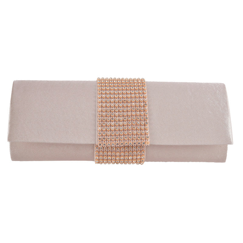 Ivory Crystal Clutch