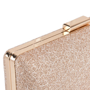 Gold Marbled Clutch