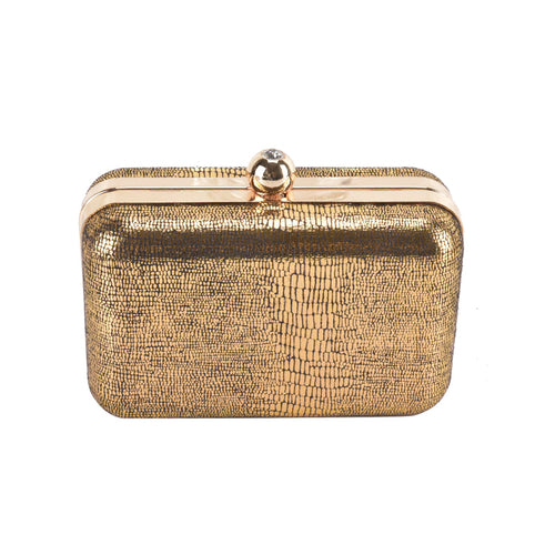 Hardcase Gold Clutch