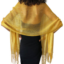 Load image into Gallery viewer, Yellow Gold Shimmer Shawl
