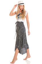 Load image into Gallery viewer, 2-in-1 Sarong Skirt & Dress - Floral
