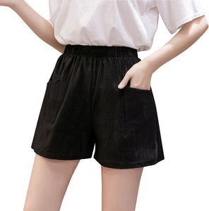 Womens Black Shorts