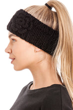 Load image into Gallery viewer, Women's Knitted Ear Warmer Headband With Flower