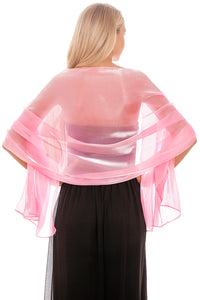 Pink Silky Wedding Wrap