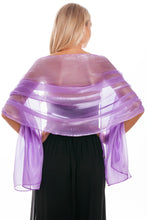 Load image into Gallery viewer, Plum Silky Wedding Wrap