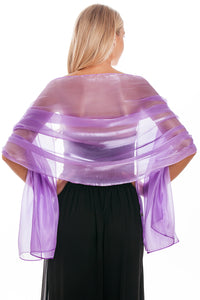 Plum Silky Wedding Wrap
