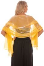 Load image into Gallery viewer, Yellow Gold Silky Wedding Wrap